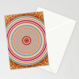 Friendship Mandala - מנדלה רעות Stationery Cards