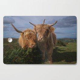 Highland Cows Cutting Board
