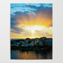 Burst of Light Poster