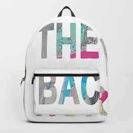 Back to the nomal Backpack