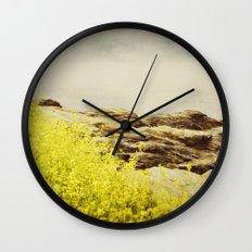 Sea Swept Wall Clock