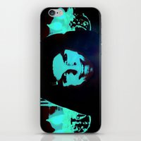 scary iPhone & iPod Skins featuring Scary Man by Jussi Lovewell