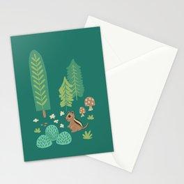 Chipmunk Woodland Stationery Cards
