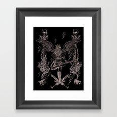 The Other Side (Grey) Framed Art Print