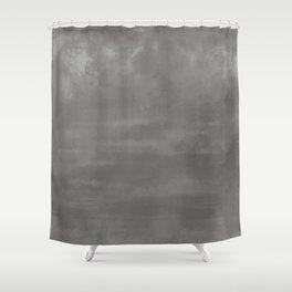 Burst of Color Pantone Pewter Abstract Watercolor Blend Shower Curtain