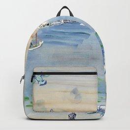 Raoul Dufy Le Quai des Esclavons a Venise Backpack