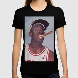 Micheal Jordan LowPoly Portrait T-shirt