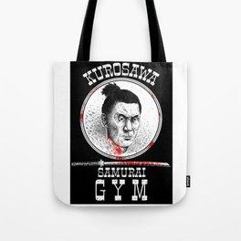 Kurosawa Samurai Gym Tote Bag