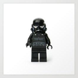 Darth Vader Minifig Art Print