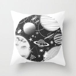 SPACE & SPORT Throw Pillow