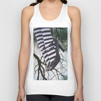 stripes Tank Tops featuring Stripes by John Turck