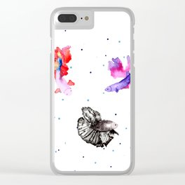 Betta Clear iPhone Case