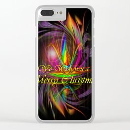 We wish you a Merry Christmas Clear iPhone Case