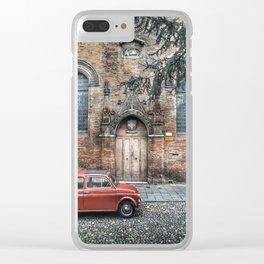 Fiat in Ferrara Clear iPhone Case