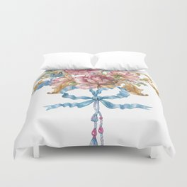 Collection of Baroque. Flower Arrangement 3 Duvet Cover