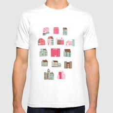 Places to rent Mens Fitted Tee White MEDIUM