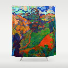 Charles Laval Landscape of Martinique Shower Curtain