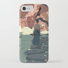 Tell a Dragon Colorful Stories part 2 iPhone Case
