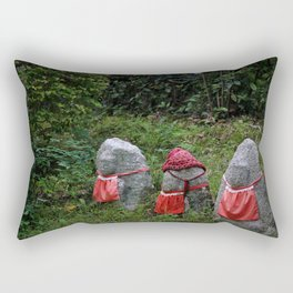 Three Tiny Guardians Rectangular Pillow