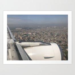 São Paulo From Above II Art Print