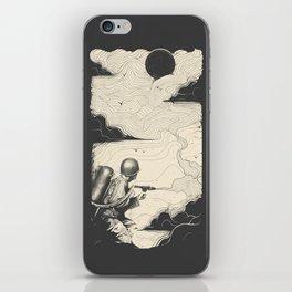 Sky Thrower iPhone Skin
