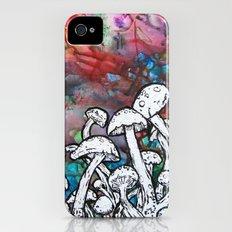 shrooms iPhone (4, 4s) Slim Case