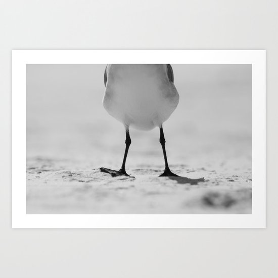 Happy Feet Art Print