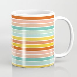 Over Striped Coffee Mug
