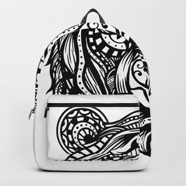 Tiger Mandala Backpack