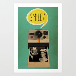 Color Chaos Collection -- Smile Art Print