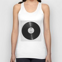record Tank Tops featuring Record by RMK Photography