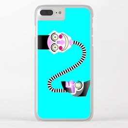 Two heads Clear iPhone Case