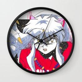 Concept Inuyasha Wall Clock