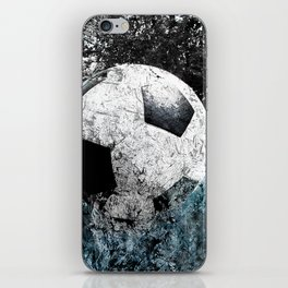 Modern soccer version 1 iPhone Skin