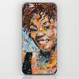 African woman iPhone Skin