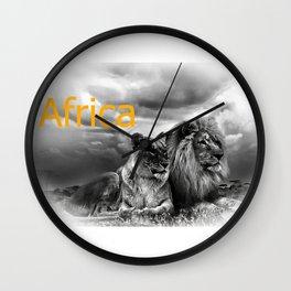 Africa V Wall Clock