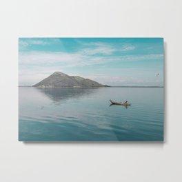 Calm lake | Montenegro, Lake Skadar Metal Print