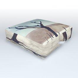 deadvlei desert trees acrfn Outdoor Floor Cushion
