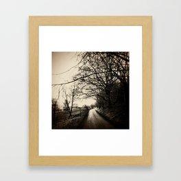 Show me the way to go home Framed Art Print