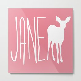 Life is Strange - Jane Doe Metal Print