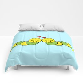 Sweet Caterpillars Comforters