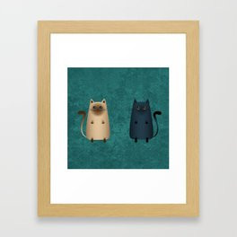 The inanna and the blue Framed Art Print
