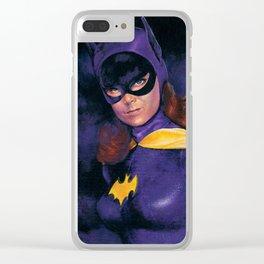 BATGIRL 1966 Clear iPhone Case