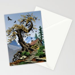 BLUE RIDGE OAK AND KOMA KULSHAN Stationery Cards