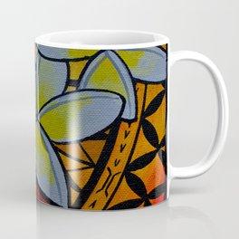 Fiery Plumerias Coffee Mug