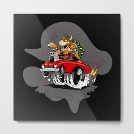 Speed Demon Metal Print