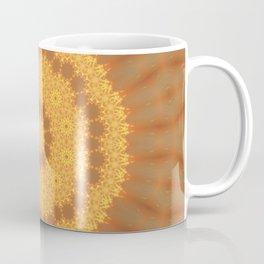 Kaleidoscope Of Gold Coffee Mug