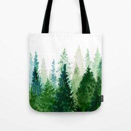 Pine Trees 2 Tote Bag