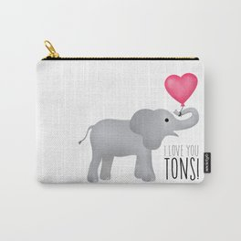 I Love You Tons! Carry-All Pouch