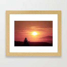 lomo-love Framed Art Print